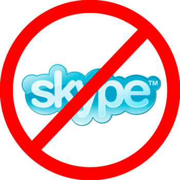 uninstall skype fully remove logo