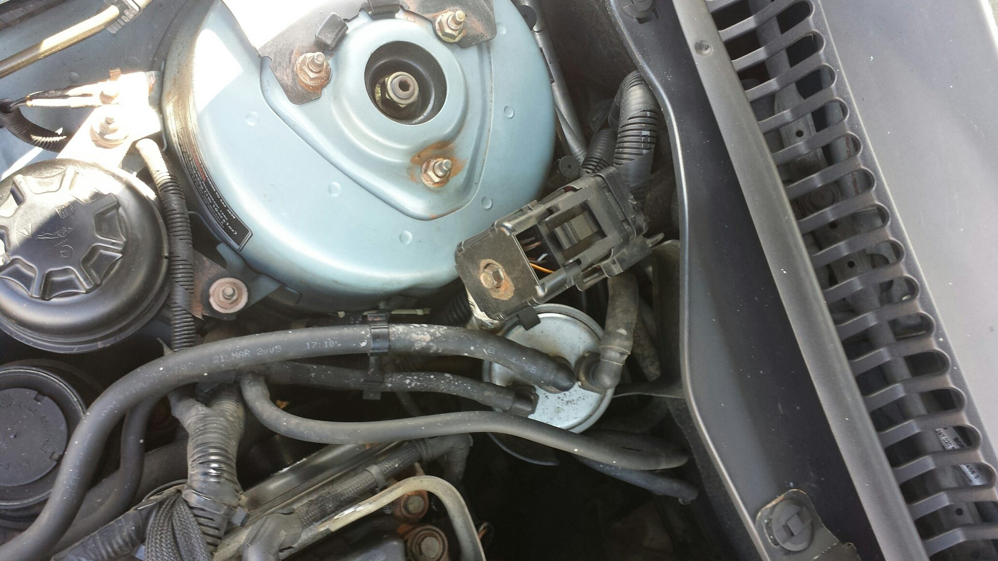 Jaguar X Type Fuel Filter Changed Now Engine Wont Start Solved Filters For Diesel Engines Image Old