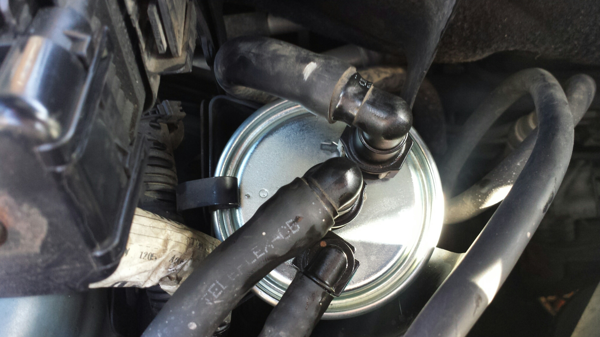 Jaguar X Type Fuel Filter Changed Now Engine Wont Start Solved Exhaust New Image
